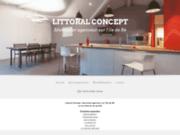 screenshot http://www.littoral-concept-iledere.com/ Littoral Concept