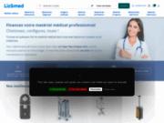 Liz&med, catalogue en ligne de location de matériel médical neuf pour professionnels de santé