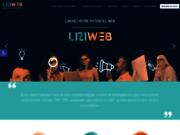 screenshot http://www.liziweb.com création de site internet en haute normandie