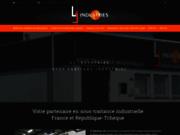 screenshot http://www.lj-industries.fr lj industries