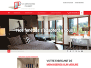 screenshot http://www.lmmp-philibert.fr/index.html menuiseries en bois sur mesure : lmmp