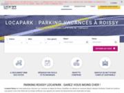 screenshot http://www.locaparkroissy.fr location parking roissy.