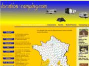 screenshot http://location-camping.com location camping pour vacances en france