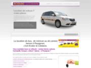 screenshot http://www.location-ecoloc-perpignan.fr Ecoloc La Catalane