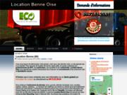 screenshot http://www.locationbenne60-oise60.com Location benne Oise