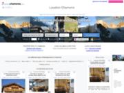 screenshot http://www.locationchamonix.com locations de vacances à chamonix