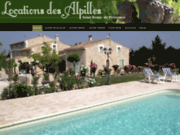 screenshot http://www.locations-saintremy.com locations saint remy de provence, romero,alpilles,provence, logis de france.