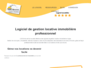 screenshot http://www.lockimmo.com/ Lockimmo, votre concepteur de logiciel immobilier gestion locative