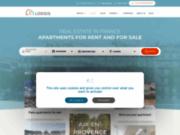screenshot http://www.lodgis.com la location meublée et la vente d'appartements à Paris