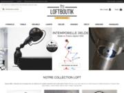 screenshot http://www.loftboutik.com/ loftboutik : décoration esprit loft