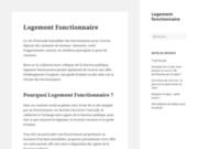 screenshot http://www.logement-fonctionnaire.fr logement fonctionnaire