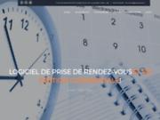 screenshot http://logiciel-rendez-vous.fr gestion rdv