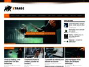 screenshot http://www.logxtrade.fr logiciel boursier pour apprendre l'analyse technique