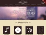screenshot http://www.loiclacroix-composer.com loic lacroix - compositeur, arrangeur