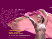 screenshot http://www.loliedanse.com lolie danse orientale