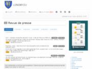 screenshot http://www.longwy.eu longwy.eu le portail de la région de longwy : pays haut - belgique sud - luxembourg