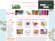 screenshot http://www.lorenkadi.com loren kadi - cosmétiques et tissus naturels