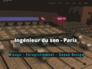 screenshot http://www.louis-gallet.com Louis Gallet ingénieur du son Paris