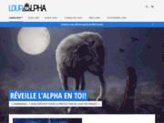 screenshot http://www.loupalpha.com LoupAlpha