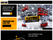 Location d'outils