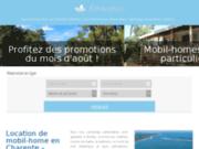 Lovacances - Location mobil home en charente maritime