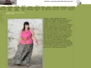 screenshot http://www.loveliformes.com le vetement grande taille pour femmes rondes