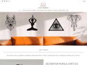screenshot https://lovetrophy.com/ Boutique en ligne spécialisé dans la décoration en métal
