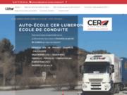 screenshot http://www.luberon-ecole-conduite.fr/ Auto-école LEC à Venelles