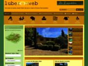 screenshot http://www.luberonweb.com vacances luberon et provence.