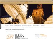 screenshot http://www.lunarossa-production.com luna rossa organisation production diffusion du sp