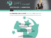screenshot http://www.lunealautre.com la compagnie lune à l'autre !!!