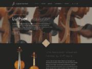 screenshot http://www.luthier-peyruc.fr fabien peyruc luthier toulouse