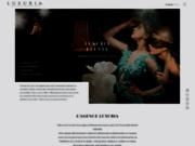 screenshot http://www.luxuriaservices.com événementiel et mariages sur cannes, monaco et saint tropez