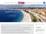screenshot http://www.lycee-imes.fr enseignement supérieur