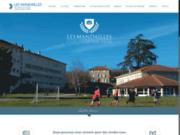 screenshot http://www.lycee-mandailles.com lycée agricole privé les mandailles. formation services et laboratoire drome.