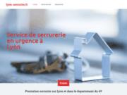 screenshot http://www.lyon-serrurier.fr serrurier lyon: abc clés