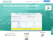 screenshot http://lyon-taxi.fr Taxi Lyon Aéroport Saint Exupéry