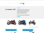 screenshot http://www.lyon69location.com 2roues-LiB : Location lyon 69, Location scooter, Location Quad et moto .
