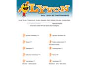 screenshot http://www.lyvon.online.fr lyvon - annuaire de jeux et d'humour :
