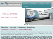 screenshot http://www.ma-logistique.fr plateforme logistique e-commerce