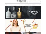 screenshot http://www.mabylone.com Mabylone parfums votre parfumerie en ligne