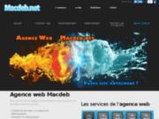 screenshot http://macdeb.net Agence web et de référencement Macdeb