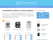 machinesaglacons.fr : comparatifs machines à glaçons