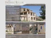screenshot http://www.maconnerie-rollin.com maçonnerie sarl frédéric rollin dans le gard
