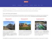 Abbadie entreprise de maçonnerie en Gironde à Sadirac proche de Libourne