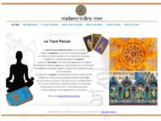 screenshot http://www.madame-indira.com astrologie hindoue et voyance gratuite mail