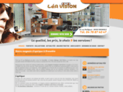 screenshot http://www.magasin-optique-38.com opticien à grenoble