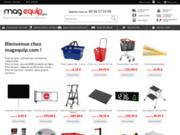 screenshot http://www.magequip.com equipement commerces et collectivités - mag equip