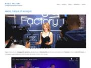 screenshot http://www.magic-factory.fr/ Magic Factory