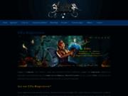 screenshot http://www.magicien-au-feminin.com elfia, magicienne des elfes